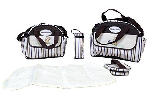 5pcs cambiador de bebé (5unidades) negro HOT PINK DESIGN ONE BROWN DESIGN TWO