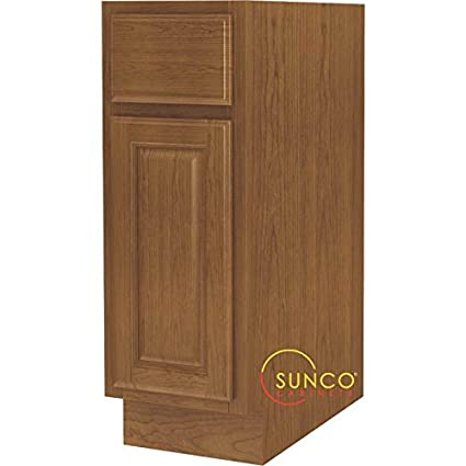 12u0026quot; Oak Base Cabinet