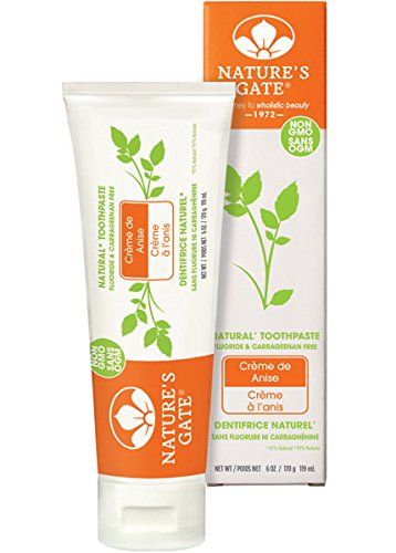 Nature's Gate Toothpaste, Creme de Anise 6 oz (Toothpaste Kids Gate Natures For)