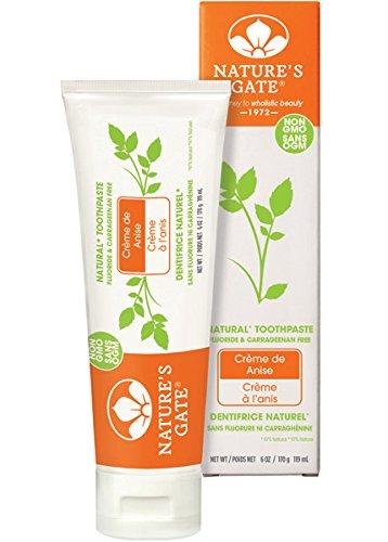 Nature's Gate Toothpaste, Creme de Anise 6 oz