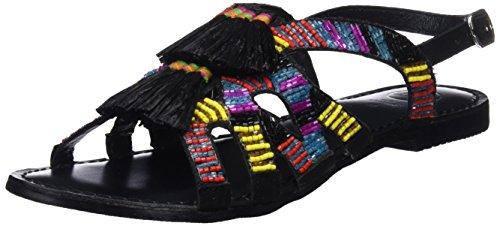 Gioseppo Women's 45290 Open Toe Sandals, Black Black