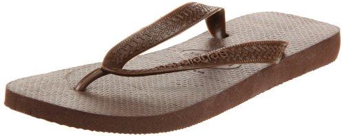 Havaianas Men's Top Flip Flop Sandal,Dark Brown, 39/40 BR(9-10 M US Women's / 8 M US Men's) ()