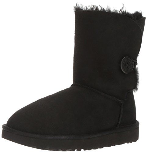 UGG Women's Bailey Button II Winter Boot, Black, 9 B US by UGG (Image #1)