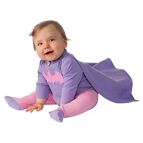 Rubie's Baby Girl's DC Comics Superhero Style Baby Batgirl Costume, Multi, 0-6 Months