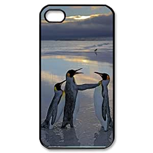 CHENGUOHONG Phone CaseLovely Penguin For Iphone 4 4S case cover -PATTERN-9