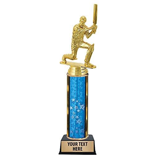12'' Cricket Batsman Trophies - Custom Cricket Trophy Awards Prime by Crown Awards