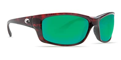 b3d2c2220 Image Unavailable. Image not available for. Color: Costa Del Mar Jose  Sunglasses Tortoise Frame Blue Mirror 400 Glass Lens