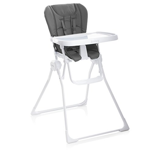 JOOVY Nook High Chair, Charcoal Compact High Chair