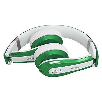 Miikey 711717910741 Rhythm Pro Wireless Bluetooth 4.0 Headphone with Microphone,