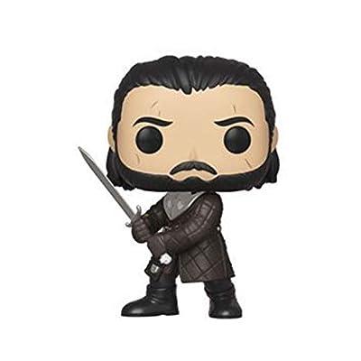 Funko Pop! TV: Game of Thrones - Jon Snow - Season 8: Toys & Games
