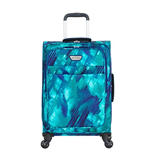 Ricardo Beverly Hills Luggage Sea Cliff 21″ Carry-On Suitcase, Watercolor Blue