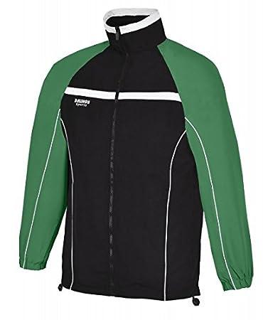 RHINOS sports - Chándal Arsenal, Color Negro/Verde, tamaño Large ...