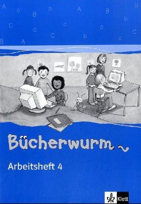 Das Bücherwurm Sprachbuch (Neukonzeption): Bücherwurm. Arbeitsheft 4. Neubearbeitung. Berlin, Brandenburg, Mecklenburg-Vorpommern, Sachsen, Sachsen-Anhalt, Thüringen