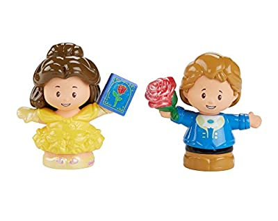 Fisher-Price Little People Disney Princess, Belle & Prince Figures, Multicolor
