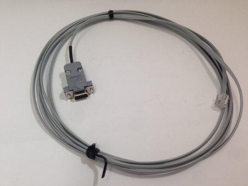 PLC DIRECTLOGIC PROGRAMMING CUSTOM CABLE D3-DSCBL-1 DB9 RJ11 4P4C RS232C DL340 12FT