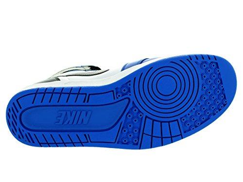 Nike Herren Air Jordan 1 High the Return Turnschuhe, Talla Weiß / Schwarz / Blau (Weiß / Schwarz-Soar)