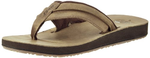 dc5def5ec6bb Reef Men s Leather Marbea Thong Sandal - Import It All