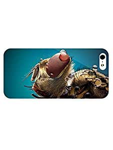 3d Full Wrap Case for iPhone 5/5s Animal Fly Close U