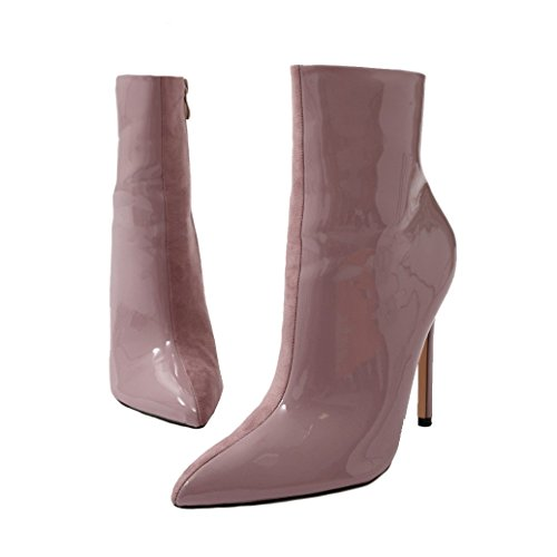 Public Desire Womens Yuri and Pointed Toe Ankle Boots Shoes Lilac US 6 (UK 4 / EU 37) from Public Desire