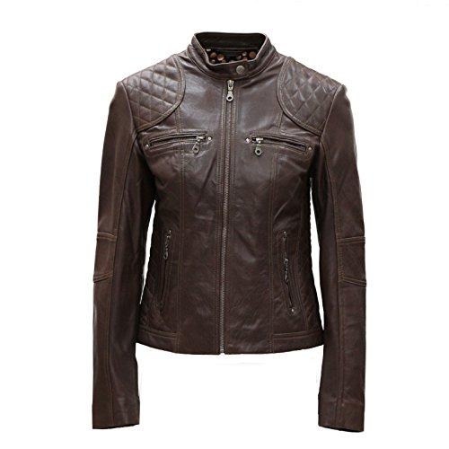 Brown Biker Jacket - 3