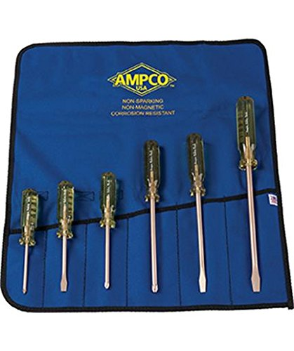 - Ampco Safety Tools M-39 Screwdriver Kit, Non-Sparking, Non-Magnetic, Corrosion Resistant
