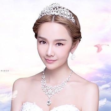 Amazon Quantity 1x Bride Headdress Three Piece Korean Style