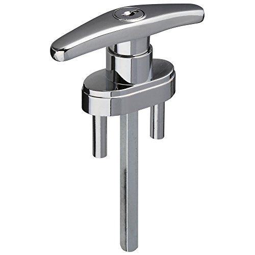 National Hardware N280-677 V7643 Locking T-Handles in Chrome, Shaft: 5/16