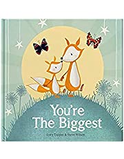 You're the Biggest : keepsake gift book celebrating becoming a big brother or sister on the arrival of a new baby