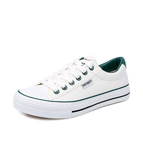 Zapatos clásicos del estudiante/Versión coreana de los zapatos de color llano bajo H