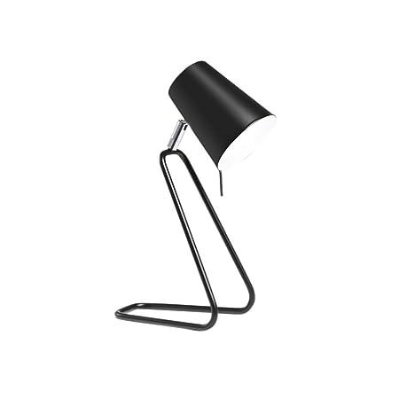 Giow E27 Lámpara de Escritorio Mesa de luz LED Metal Z Forma ...