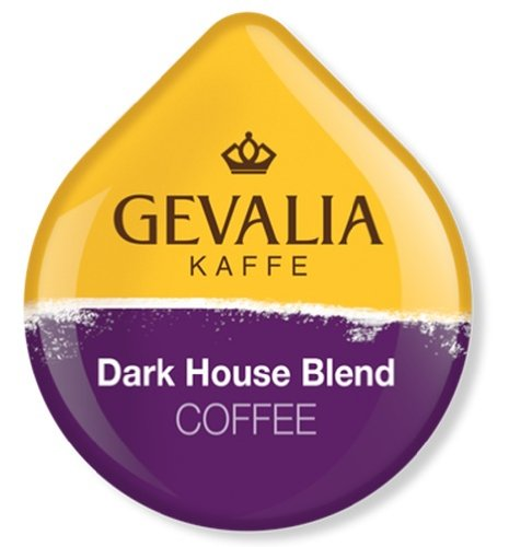 Gevalia Dark House Blend Coffee - Extra Bold - T Discs for Tassimo Brewers (2Pack)
