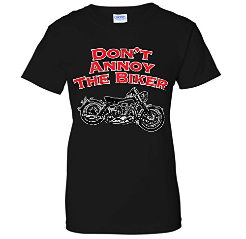 Don't Annoy The Biker -Bad Ass Motorcycle Rider - Lady Rider Motorcycle Shirts
