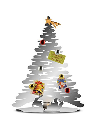 Alessi Bark Christmas Tree, Mirror Polished Steel by Boucquillon & Maaoui by Alessi