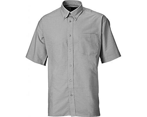 Dickies SH64250-SG-15.5 Oxford - Camisa de manga corta (talla 15,5 cm), color gris: Amazon.es: Industria, empresas y ciencia