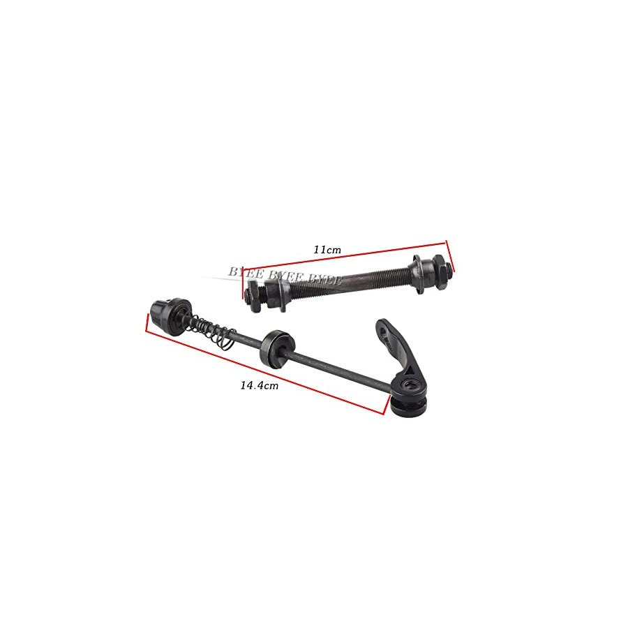 CLOUDWAL MTB Bicycle Quick Release Shaft Hollow Front Axle 108mm/145mm