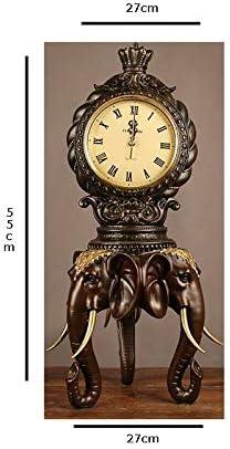 LFOZYS Artes a Mano de Resina La Caja del televisor decoración Vino despacho de casa Regalos Elefante de Moda Afortunado Reloj de Reloj: Amazon.es: Hogar