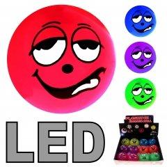 48 LED Flummi 55 mm Funnygesicht