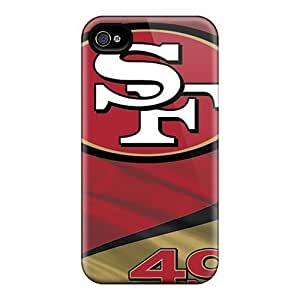 Awesome Design San Francisco 49ers Hard Case Cover For Iphone 4/4s