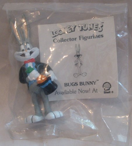 - Looney Tunes Shell Gas Exclusive Bugs Bunny PVC 3in Figurine
