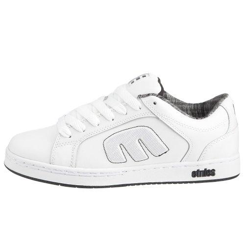 Etnies Mens Digit 2 Sneaker Bianco / Nero