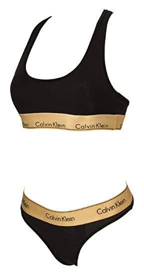 Calvin Klein Paquete Sujetador sosten Bra + Slip Calzoncillos ...