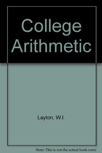 College Arithmetic