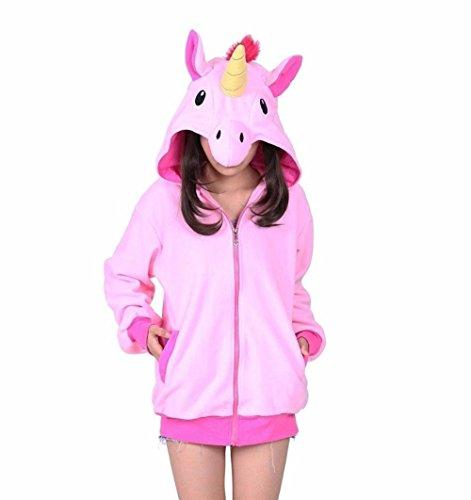 Unicorn Donna Cappuccio Vincenza Giacca Pink UzqIg