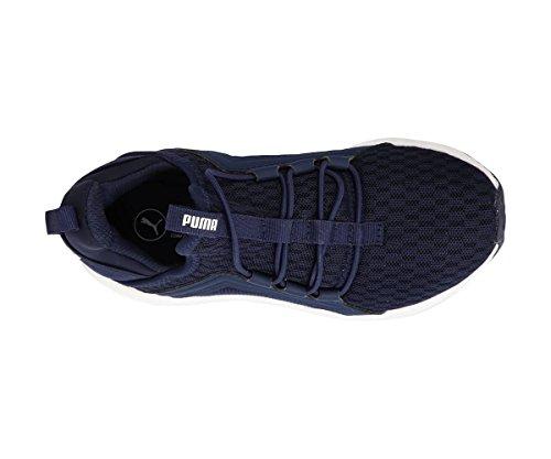 Puma Mega NRGY AC PS donkerblau Sneaker peuters Größe 28 EU