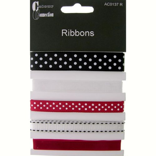 Craftime AC0137R Colour Connection Ribbons Classic