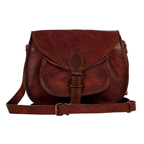 New 9 Women Handbag Shoulder Bags Tote Purse Goat Leather Ladies Messenger Bag Eco-Friendly Water Resistant Made by Experienced and Talented Artisans from Rajasthan