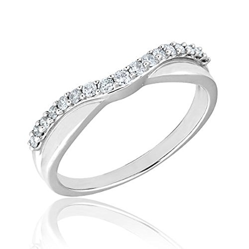 Curved Wedding Bands - 9
