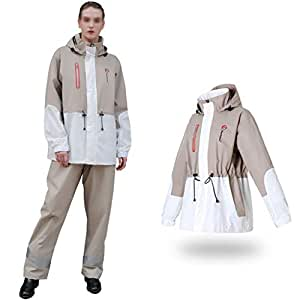 ZSCWMB - Chándal Impermeable para Hombre y Mujer, Reutilizable ...