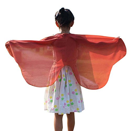 vermers Child Kids Chiffon Solid Shawl Boys Girls