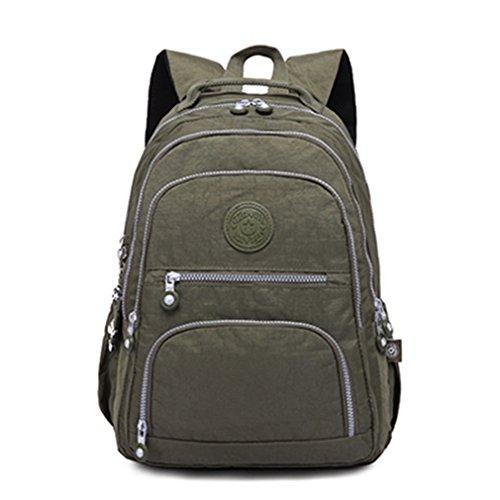 femmes d'école à pour de Sac de Army Green à portable dos d'ordinateur filles des dos Haoling sac sacs de bandoulière à d'adolescent d'école 6F4PXq6v